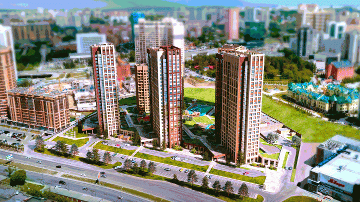 Яркие фасады, футуристические высотки и классический стиль: составили топ-13 эффектных жилых комплексов