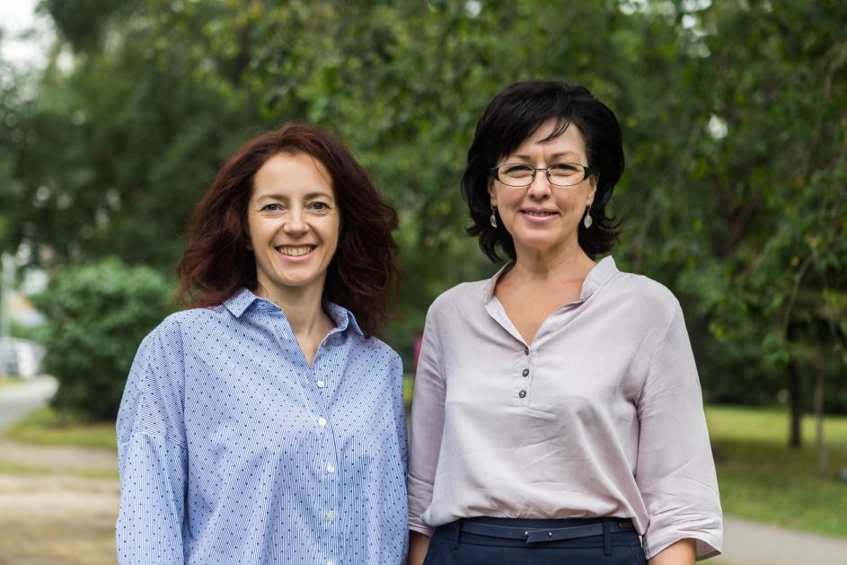 Врач, организатор конференции «Биохакинг» Елена Бобяк (на фото справа) будет курировать этапы проекта, в том числе подбирать специалистов для Евгении