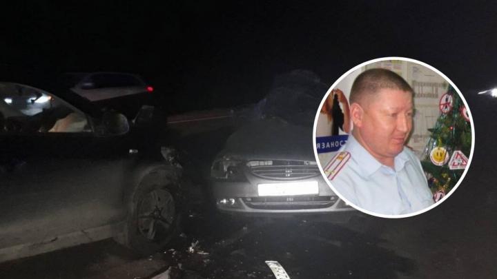 В аварии под Уватом погиб бывший инспектор тобольской ГИБДД