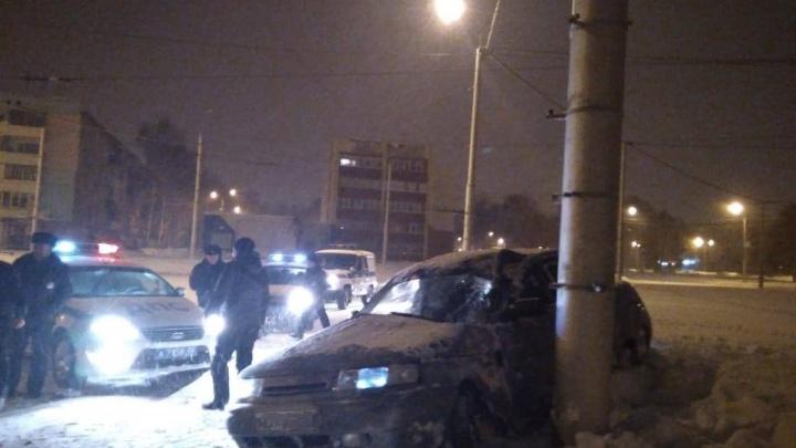 Уходил от преследования: в Башкирии погоня за 19-летним водителем попала на видео