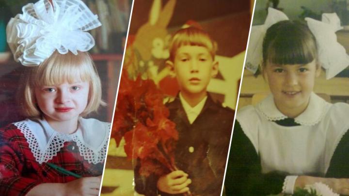 С бантами и гладиолусами: ярославцы поделились первосентябрьскими фотографиями