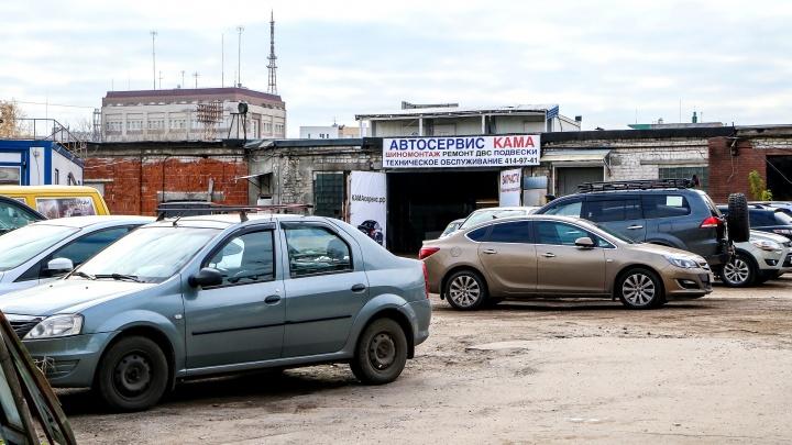 Автомойка останется в Почаинском овраге, даже если там разобьют парк