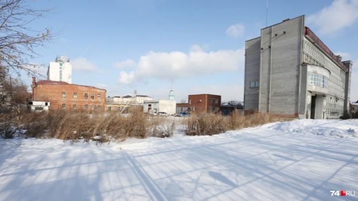 Вота ФОК? Улицу в центре Челябинска закроют из-за стройки спортцентра для полицейских