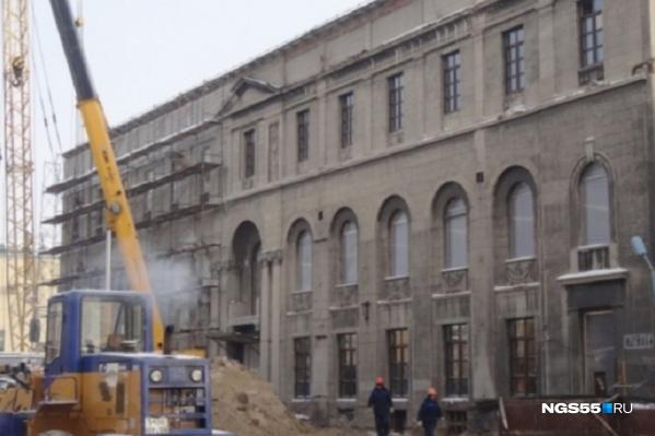 Реконструкцию планировали завершить еще несколько лет назад
