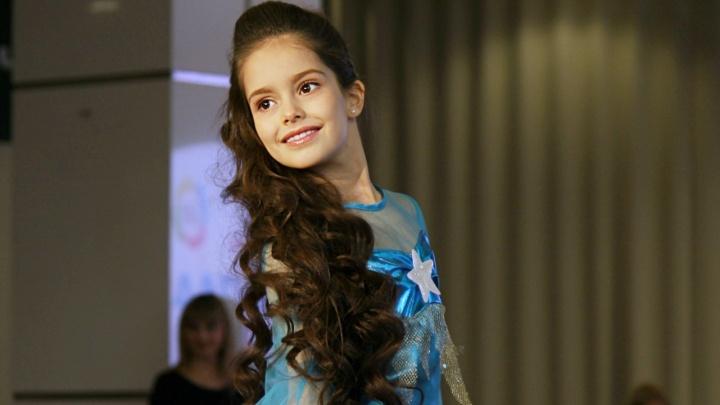 Зимняя красавица: второклассницаполучила титул «Мини Мисс»