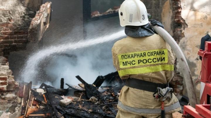 В Волгограде у себя в квартире сгорела 44-летняя женщина