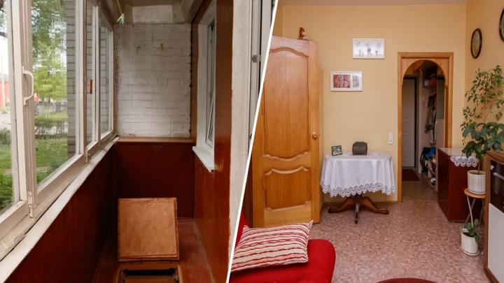 С балконами, погребами, кладовками: рассматриваем пять двухкомнатных квартир по цене «однушки»
