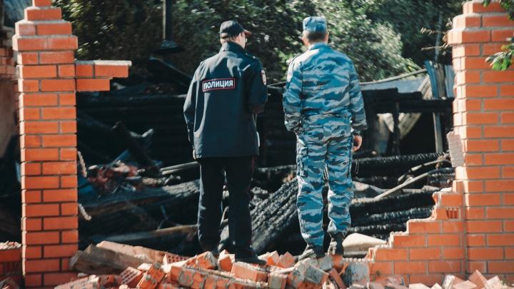 Следователи завели уголовное дело из-за гибели дедушки и внучки при взрыве газа под Тюменью