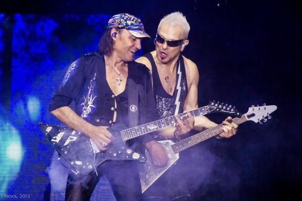 Четыре года назад Scorpions выступили в Перми, собрав многотысячную публику