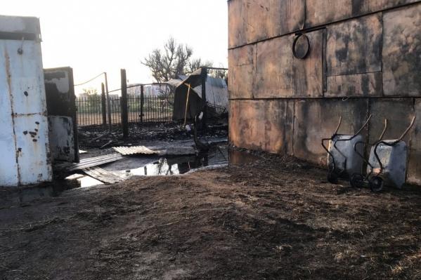 Горожане уверены, что 15-летний сын конюха не мог спровоцировать серьезный пожар