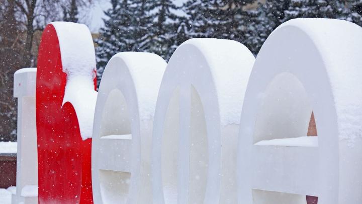 А снег не знал и падал: Уфа превратилась в новогоднюю сказку в конце ноября