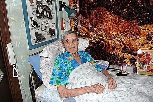 Антонине Георгиевне исполнилось 100 лет