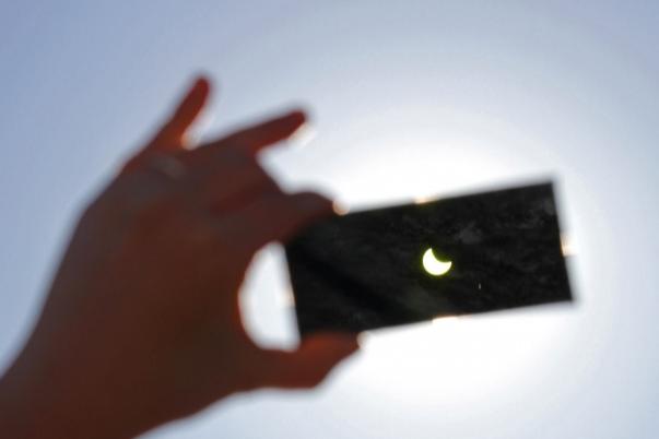 Жители Башкирии смогут увидеть кольцеобразное солнечное затмение