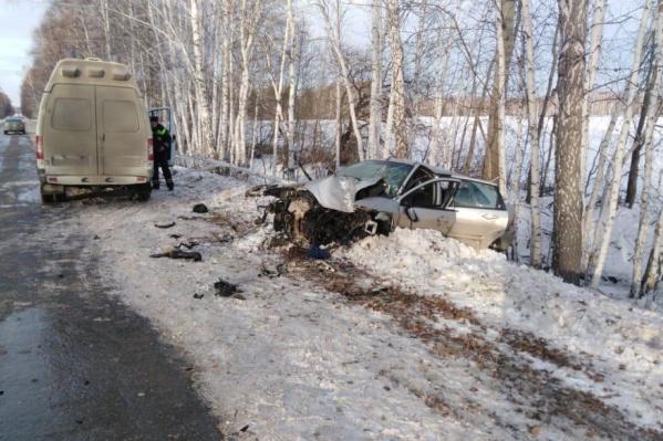 Авария случилась днем 8 декабря