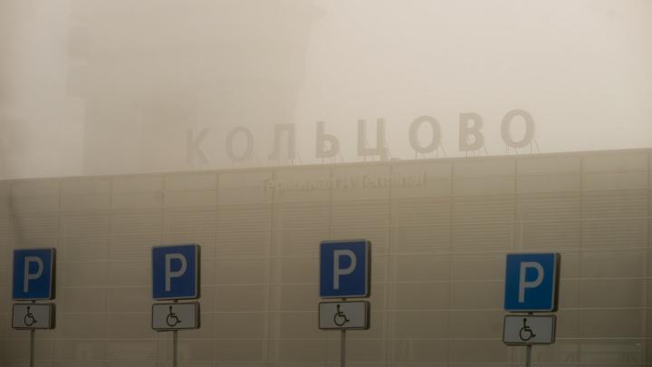 Из-за тумана в Екатеринбурге не смогли приземлиться самолеты из Сочи, Пекина и Нижневартовска
