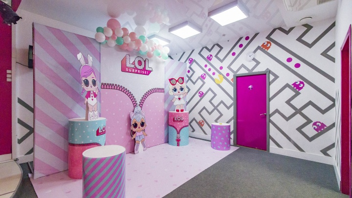 В Екатеринбурге продается помещение известногоагентства детскихпраздников «Феерита»