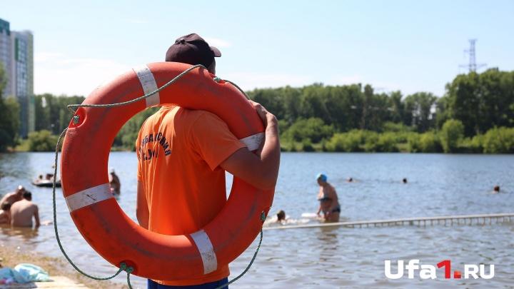 Уфимские спасатели отвоевали у воды трёх купальщиц за минувшие сутки