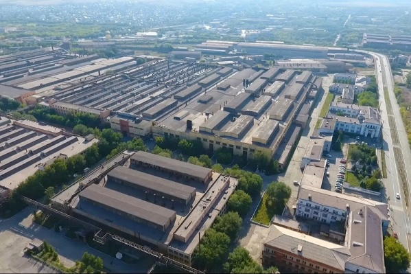 Индустриальный парк Магнитогорского металлургического комбината