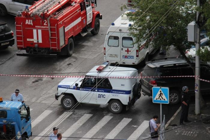 Движение по ул. Ленина было блокировано более 4 часов