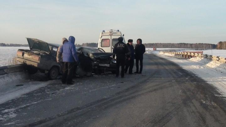 Житель Башкирии разбился в ДТП в Свердловской области