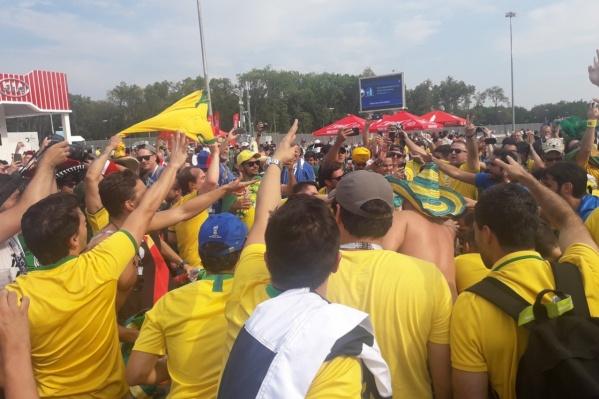 Самару посетили тысячи болельщиков