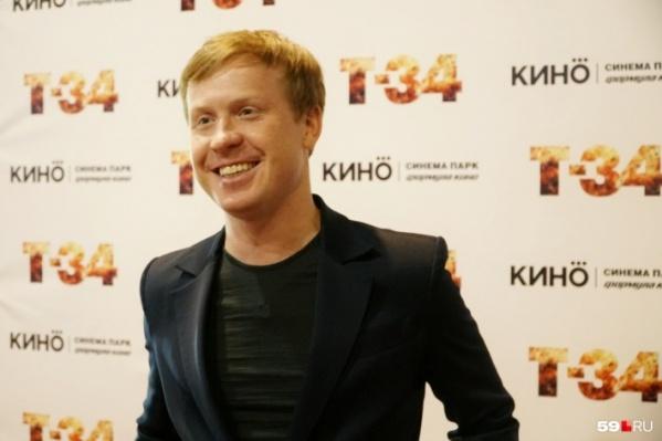 Антон Богданов также снялся в фильме о Великой Отечественной войне «Т-34»