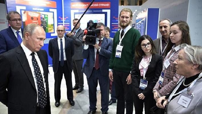 «Утиное гнездо» и лавочку-навигатор с пермской набережной увидел президент. И задал вопросы авторам