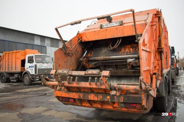 На свалку вывозятся «хвосты» — отходы, которые не принимают другие предприятия на переработку