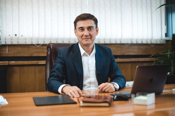 """Генеральный директор АО «БПО """"Прогресс""""» Марат Тимиров"""