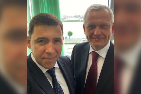 Губернатор Евгений Куйвашев обещал, что Сергей Капков превратит Первоуральск в «современное, экологичное, комфортное для жизни место»