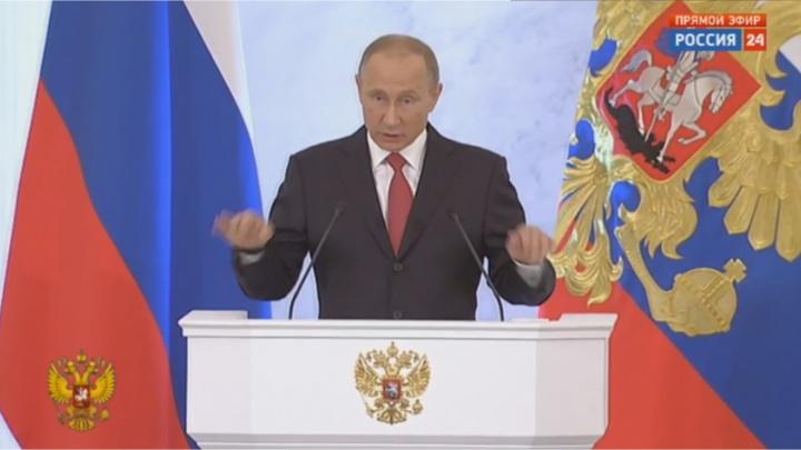 Владимир Путин выступит с программной речью поближе к выборам