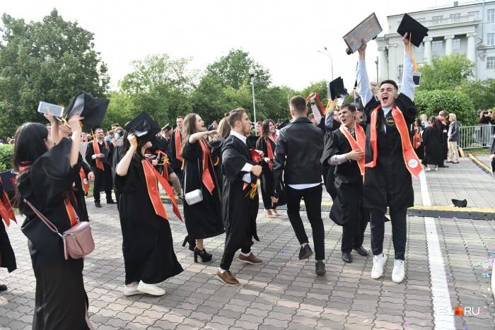 В этом году дипломы УрФУ получили 5000 выпускников