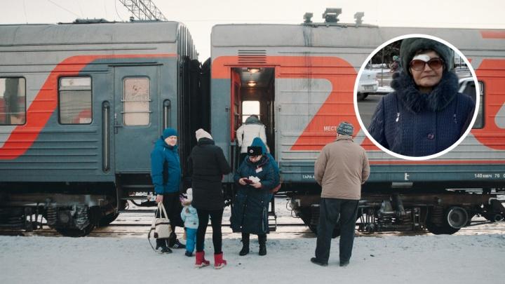 «Нашли у путей». Пропавшую 70-летнюю пенсионерку из Голышманово спасли железнодорожники