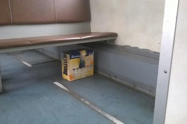 Бдительный контролёр заметил подозрительный предмет. Это оказалась коробка с котятами
