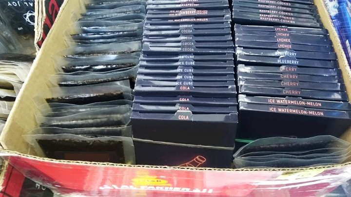 Из шести пермских магазинов изъяли 18 тысяч пачек кальянного табака без акцизных марок