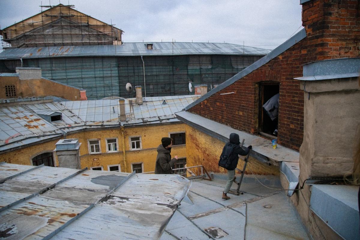 Ох уж эти питерские крыши!