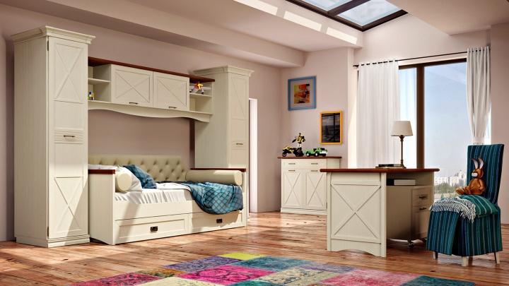 Чтобы цвет нравился и зрение не портилось: как выбрать мебель в детскую