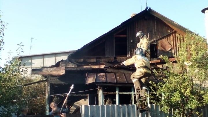 Крупный пожар в Башкирии: погибла женщина