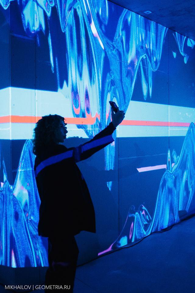 В декабре Red Pepper Events поработало с «Атомстройкомплексом»: в ЖК «Чемпион Парк» с помощью проекции «оживили» стены
