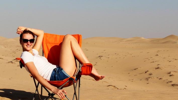 Ольга жила в Новосибирске до того, как переехать в Дубай