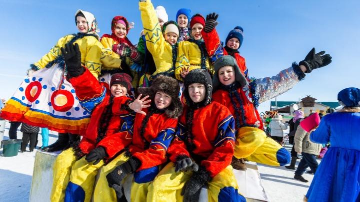 Фестиваль «Сибирская Масленица»: гостей ожидают ярмарка, концерты и забеги на русских тройках