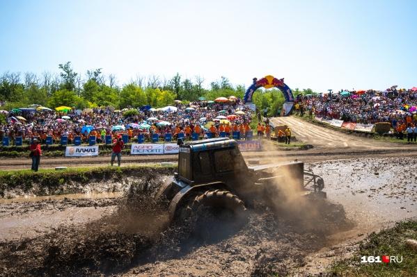 Впервыегонки «Бизон-Трек-Шоу» прошли в 2002 году