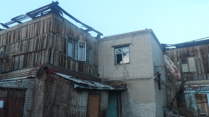 «Зачем улицу топить?»: курганцы просят Шумкова остановить ремонт сгоревшего дома по ул. Климова