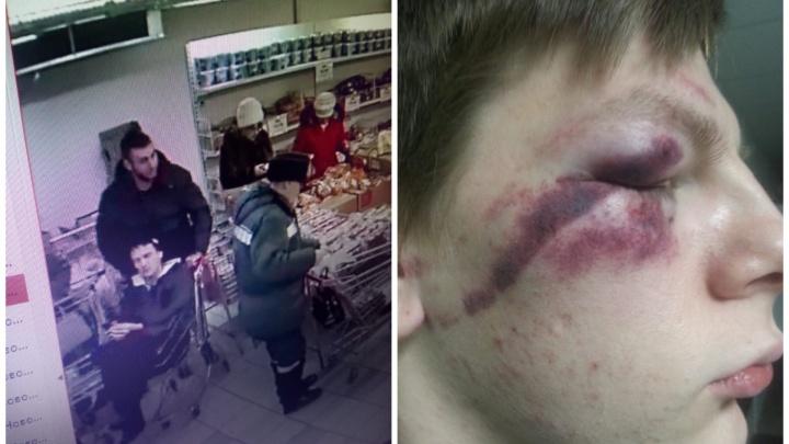 На Урале двое мужчин избили подростка из-за бутылки минералки: показываем видео