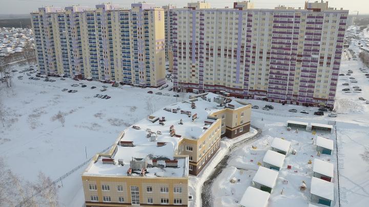 В Новосибирске нашли дом с сотней пустующих квартир