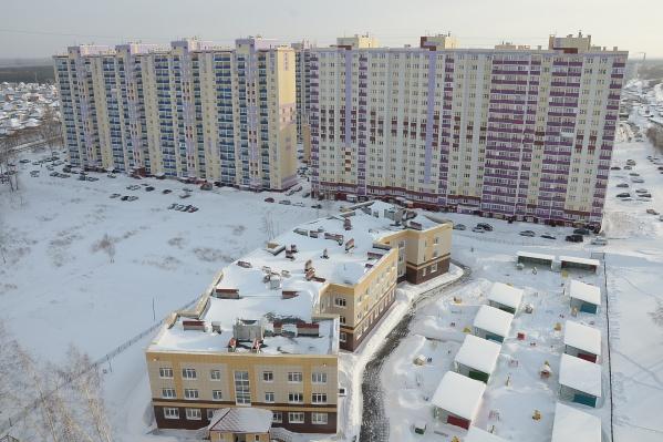 В одном доме в жилмассиве «Берёзовый» на продажу одновременно выставили почти 100 квартир