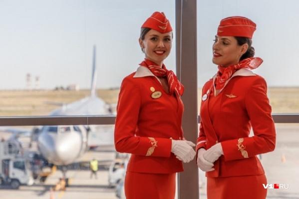 Красавицам «Аэрофлота» придётся с щетками в руках драить салоны между рейсами