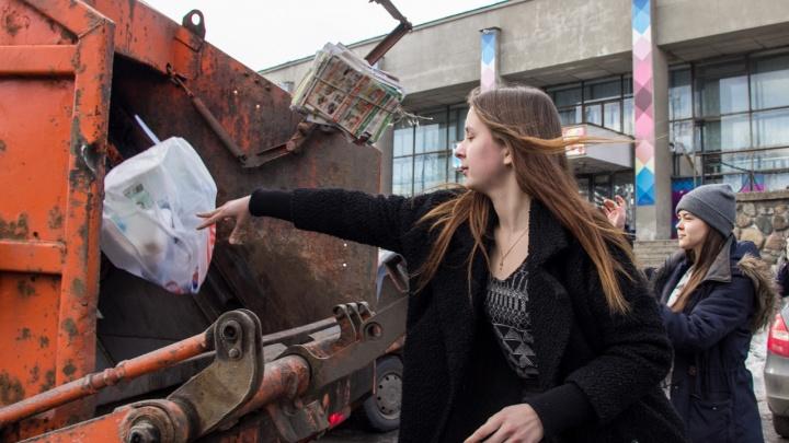 Городские жители в Архангельской области будут платить за вывоз мусора больше, чем сельские