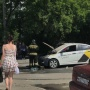 «Тушить помогали автомобилисты»: в Челябинске погорела машина «Яндекс.Такси»