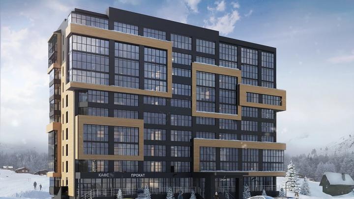 Известный новосибирский отельер начал строитьв Шерегеше апартаменты